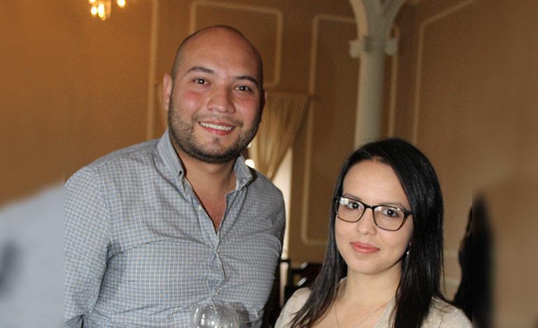Alexander Carrillo y Marcela Moncada.