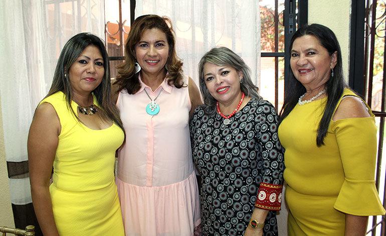 Kelin Galeano, Koritza Díaz, Ena Romero, Sidalia Galeano.