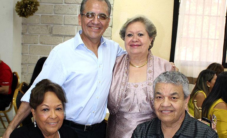 Alberto González, Digna de Castillo, Noemí Ramírez, Israel Ramírez.