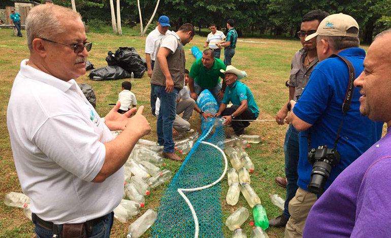 Con biobardas retendrán basura fluyendo hacia el mar Caribe