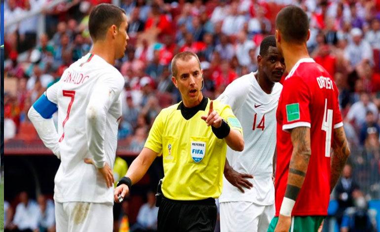 FIFA asegura que colegiado Geiger no pidió la camiseta de Cristiano Ronaldo