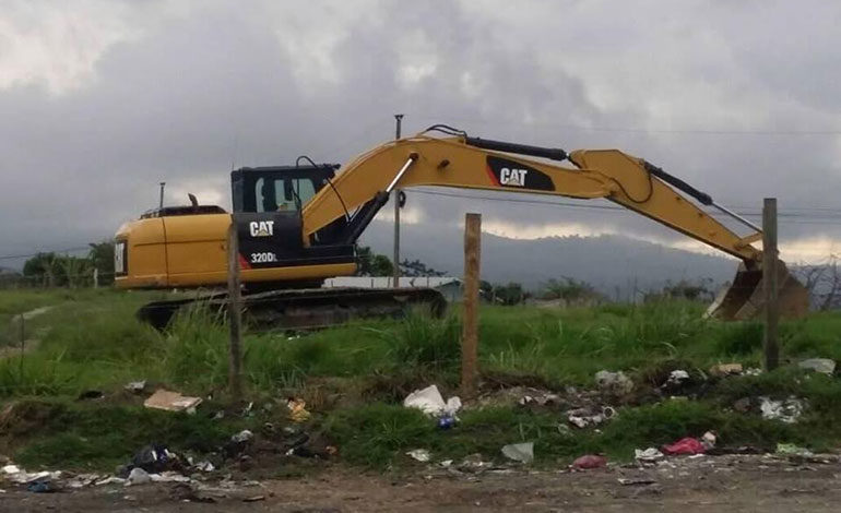 Con llegada de maquinaria inicia cierre técnico de crematorio de Siguatepeque