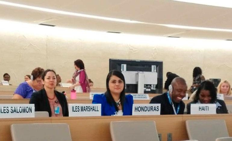 Honduras reafirma compromiso para prevenir el desplazamiento interno