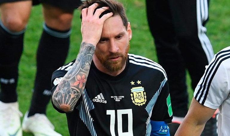 "Messi: ""Me duele haber errado el penalti"""