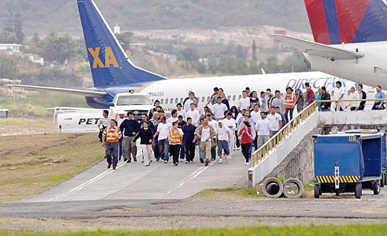 Deportación de hondureños aumentó 57% en siete meses de 2018
