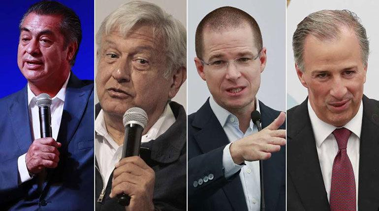 Conozca a los cuatro candidatos a la presidencia de México