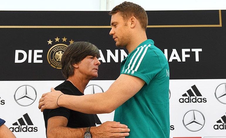 Löw y su mayor riesgo llamado Manuel Neuer
