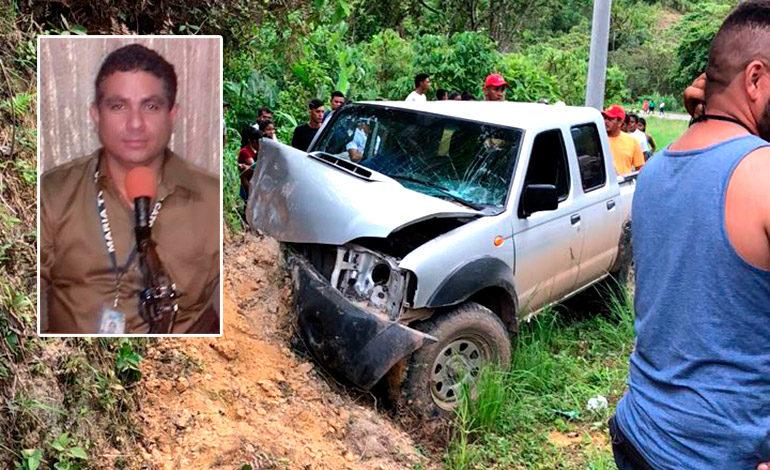 En accidente de tránsito muere director de Radio Católica de Olanchito