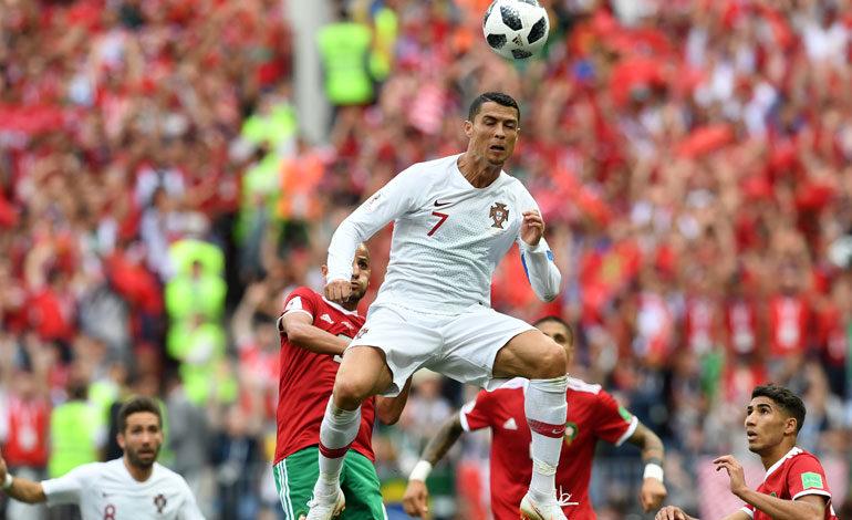 """""""Partido a partido"""", dice Ronaldo, mejor jugador del Portugal-Marruecos"""