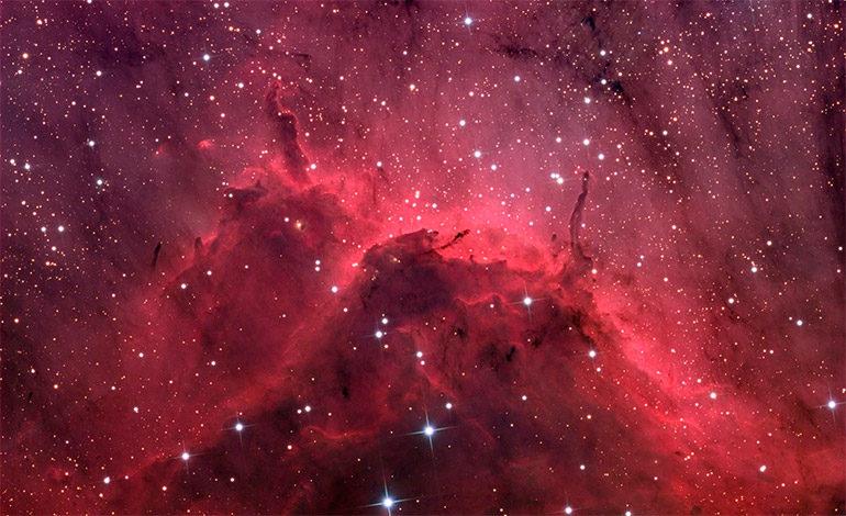 El espacio interestelar está lleno de nubes de grasa