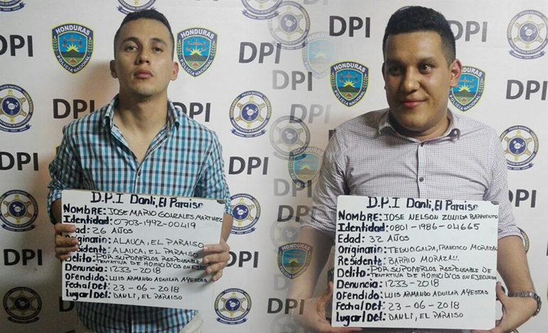 Capturan a dos agentes de Interpol por tentativa de homicidio
