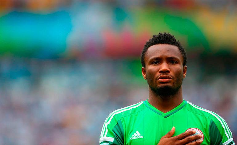 Obi Mikel podrá jugar contra Argentina pese a su lesión en la mano