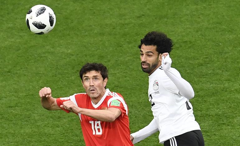 Rusia el primer clasificado a octavos tras vencer a Egipto