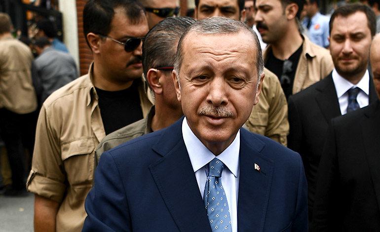 Erdogan encabeza las presidenciales en Turquía según los resultados parciales
