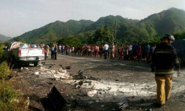 Un muerto y seis heridos deja accidente vial en Morazán, Yoro (Video)