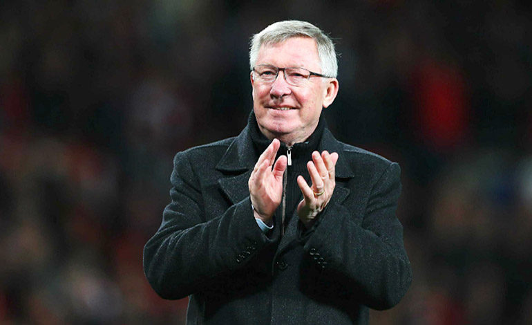 Alex Ferguson da las gracias a los médicos