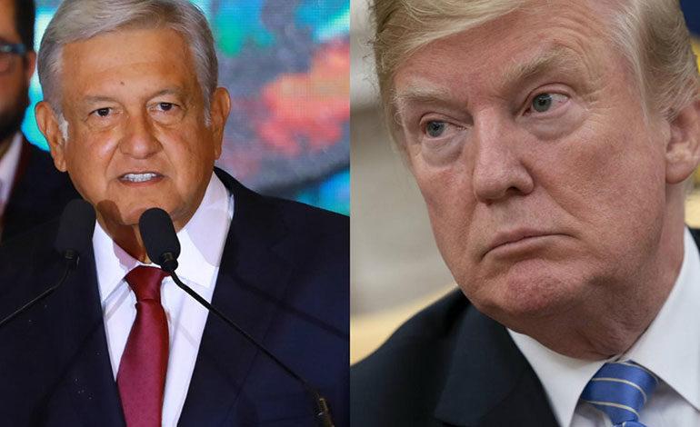 López Obrador propuso a Trump reducir la migración
