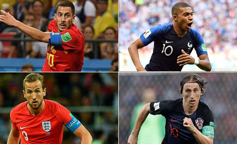 Mbappé, Griezmann, Hazard, De Bruyne, Modric, Kane a por el Mundial… ¿y el Balón de Oro?