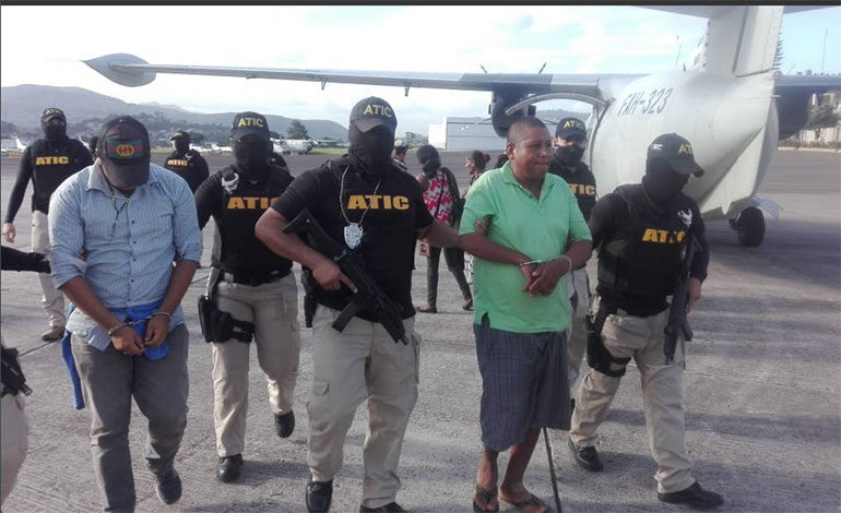 Capturan a tres hombres con 14 kilos de cocaína