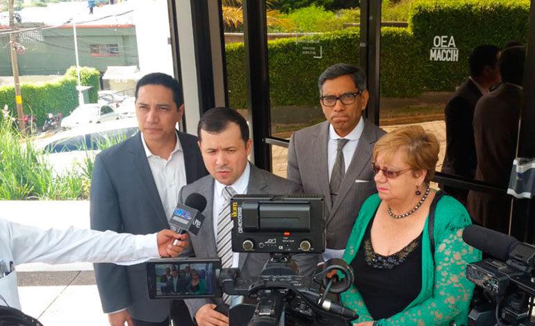 Frente Parlamentario de Apoyo a la Maccih se reúne con vocero de la misión