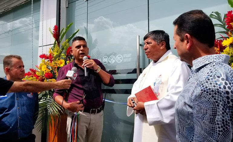 Modernas oficinas abre EEH en Copán