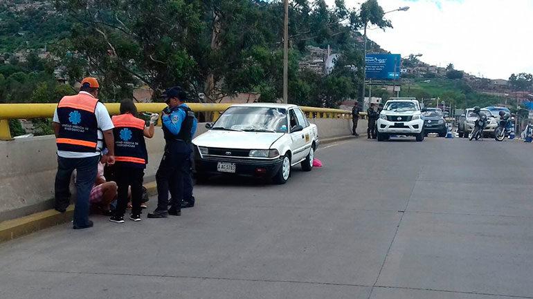 Matan a taxista en colonia Smith de Comayagüela