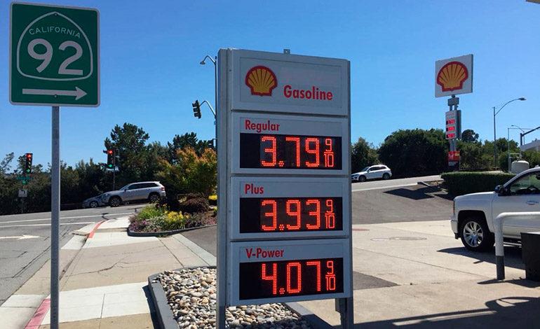 Precio del combustible en EE UU es parecido al de Honduras
