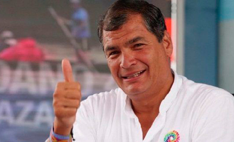 Expresidente Correa pide medidas cautelares