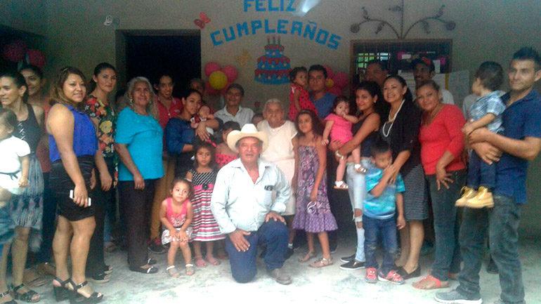 María Magdalena cumplió 118 años junto a sus 134 bisnietos