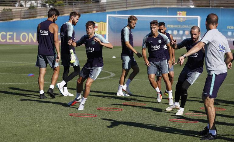 Barcelona viaja con 28 futbolistas a Estados Unidos