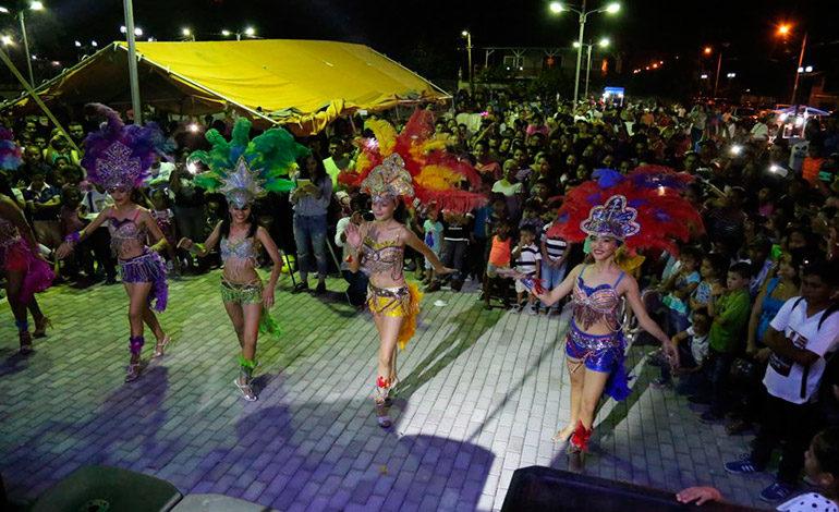 """Caravana """"Viajando por Honduras, la Ruta del Sol"""", cerró con noche cultural en San Lorenzo"""