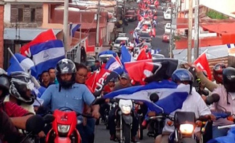 Ortega y oposición de Nicaragua anuncian megamarchas para este jueves