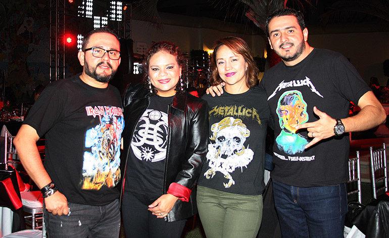 Rony Fonseca, Belinda Girón, Lilian Corrales, Emerson Andino.