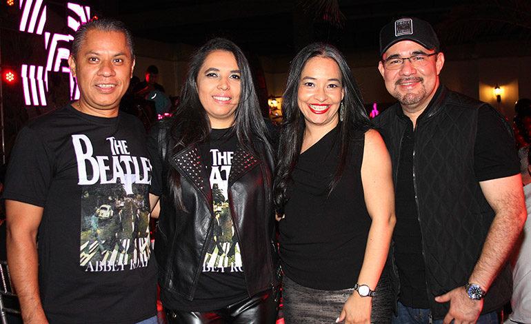 Leonel Flores, Ritza Salgado, Gabriela Castellanos, Marcio Rivera.