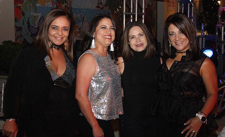 Helen Matute, Gislena Mazier, Mabel Galeano, Claudia de Aguilar.