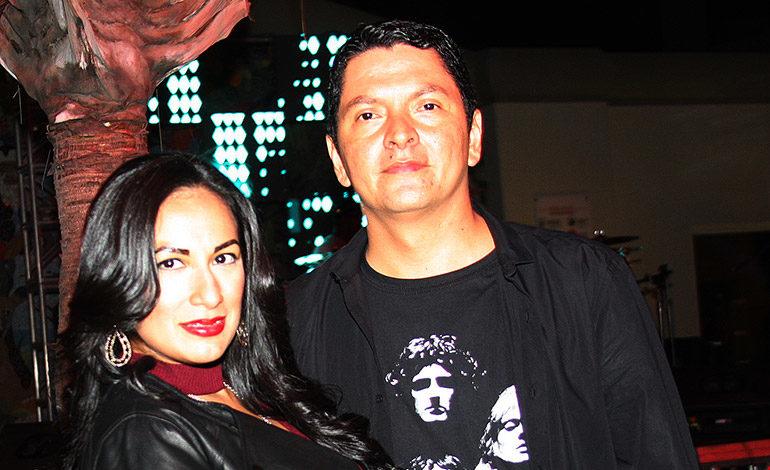 Thania y Ricardo Marichal.