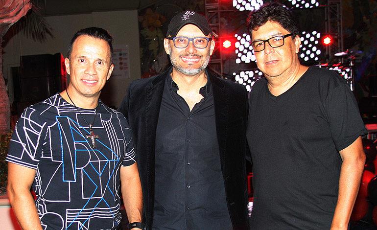 Rafael Aguilar, Juan Carlos Mendoza, Francisco Galeano.