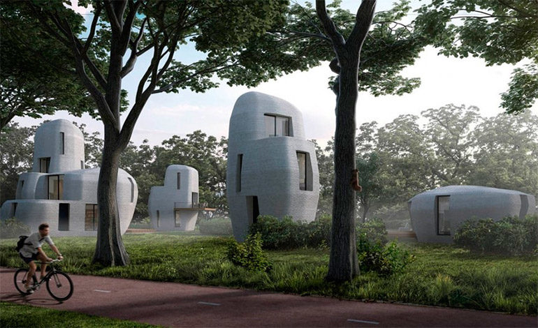 Holanda construirá las primeras casas con impresoras en 3D