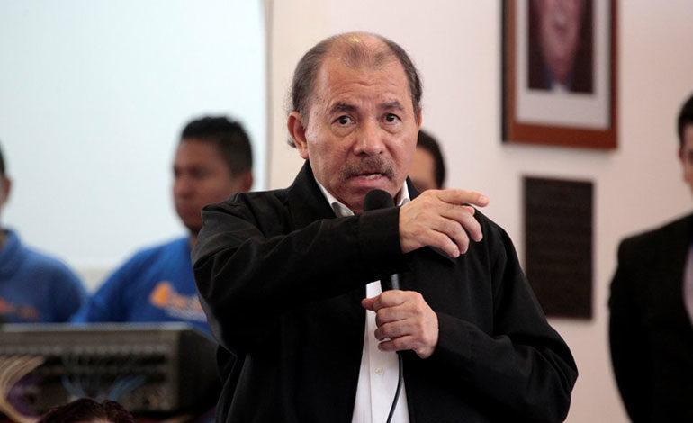 Ortega pide a la oposición restaurar la paz en Nicaragua
