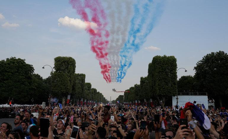 Celebración de goles provocó sismos en Francia
