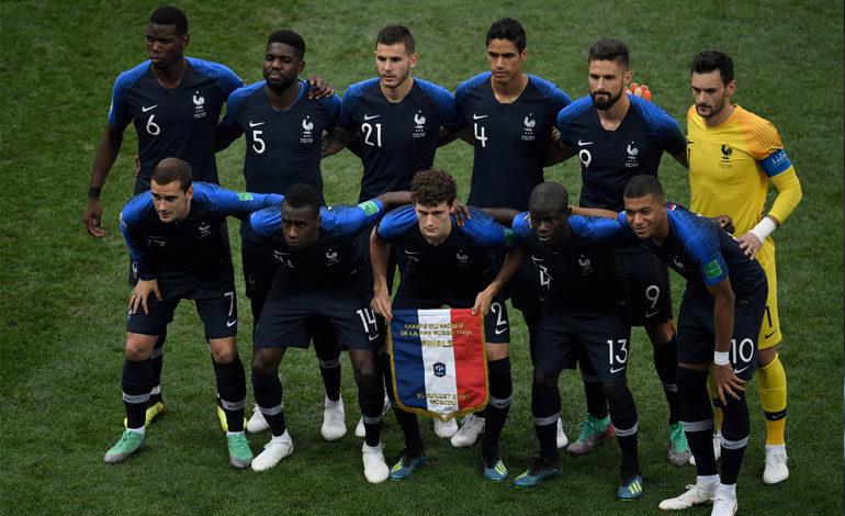 La diversidad de los Bleus genera también un impacto mundial