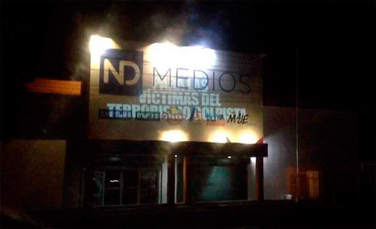 Encapuchados armados intimidan a empleados de empresa de medios de Nicaragua (Video)