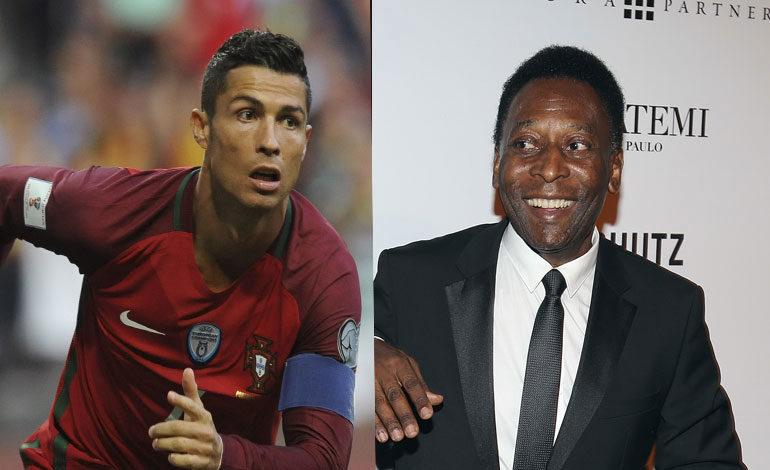 Pelé felicita a Cristiano Ronaldo por su fichaje al Juventus