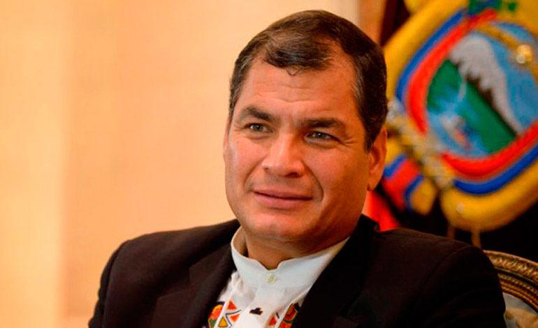Fiscalía de Ecuador pide prisión preventiva contra Rafael Correa