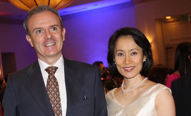Guillermo Kirkpatrick y Naomi Ohki.