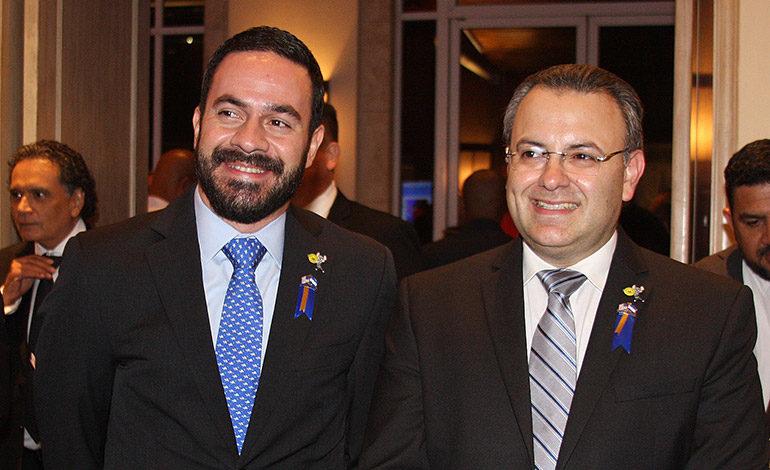 Efraín Gutiérrez y Leo Castellón.