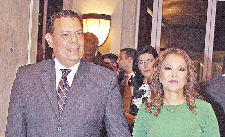 Rolando Pinel y Olga Alvarado.