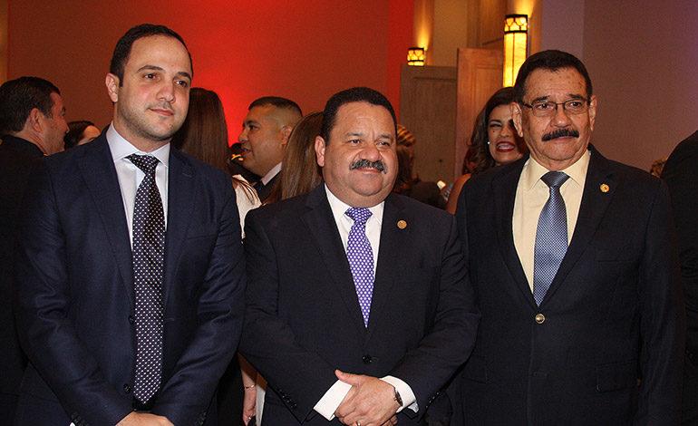 Enrique Jaar, Rafael Medina, Obdulio Hernández.