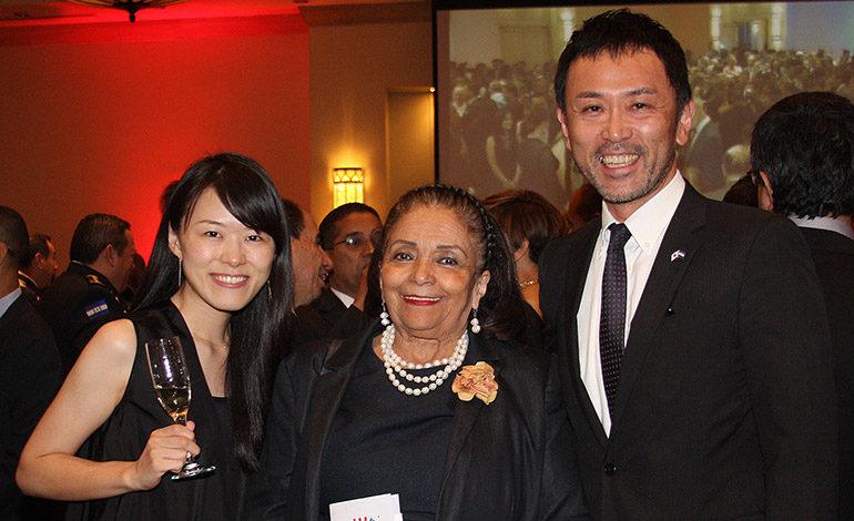 Shoko Azuma, Nelia Chavarría, Yuichi Miyagawa