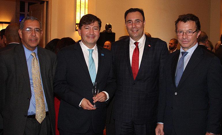 Sergio Membreño, Igor Garafulic, Luis Zelaya, Alessandro Palmero